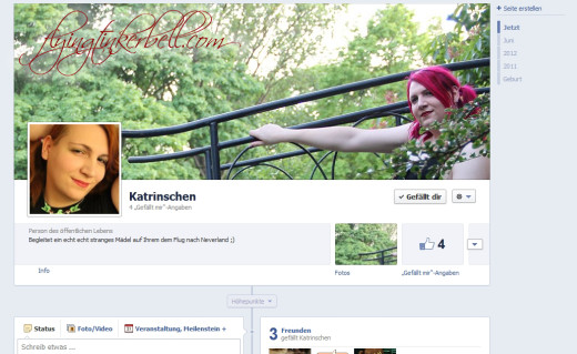 Facebook – oder ihr könnt mich jetzt liken!