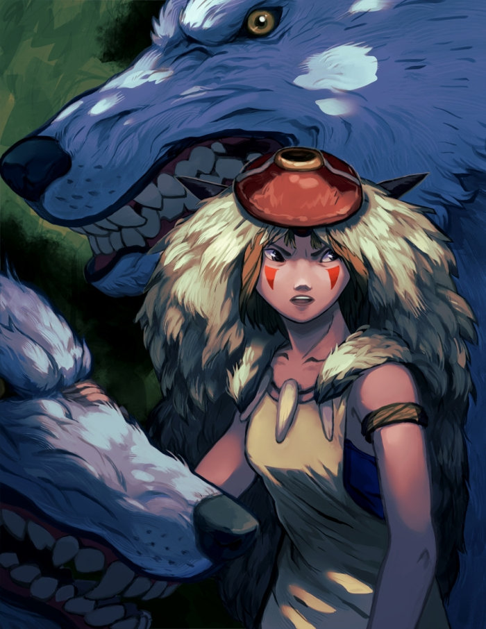 Princess Mononoke by Mosaur