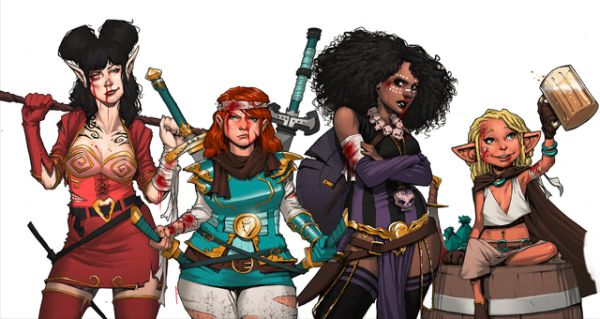 Rat Queens © Kurtis J. Wieber & Roc Upchurch